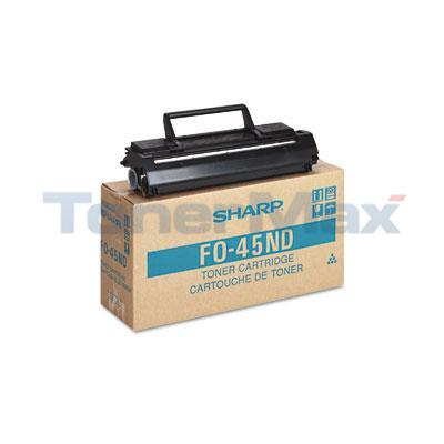 SHARP FO-4500 LASER TONER CARTRIDGE BLACK